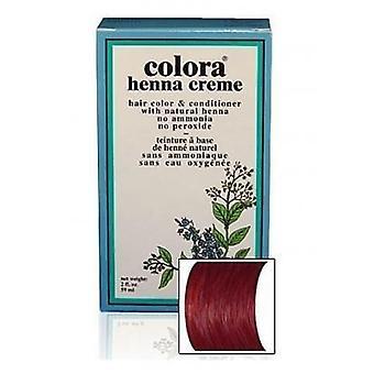 Colora Henna Creme - 100% Organic hair colour - Burgundy