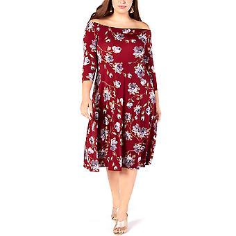 Soprano | Off-the-Shoulder Fit & Flare Dress
