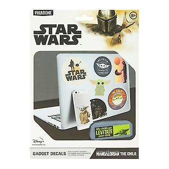 I decalcomani per gadget per bambini con licenza di star Wars Mandalorian Stickers