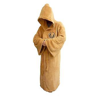 Star Wars Jedi Fleece Robe Tan Logo Adulte Grand