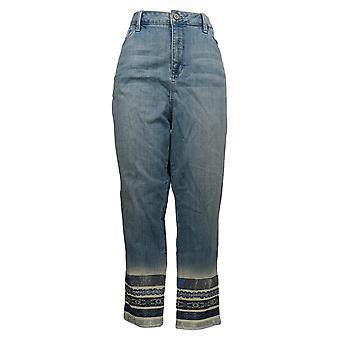 Laurie Felt Women's Jeans Plus Denim Stiletto Blue A352546