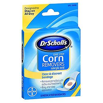 Dr. Scholls One Step Corn Removers bandaje medicamentate, 6 fiecare