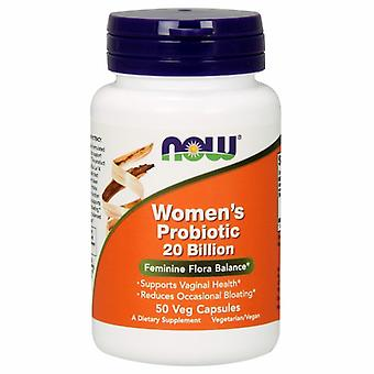 Now Foods Womne's Probiotic 20 Billion, 50 Vegcaps