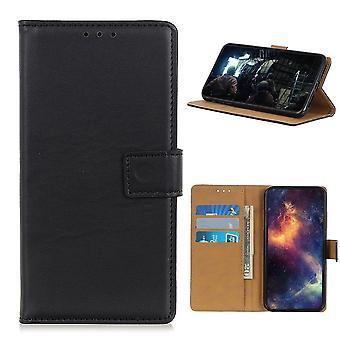 Samsung Galaxy A42 5G Brieftasche Fall - Schwarz