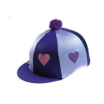 Capz Heartz & Pom Pom Motif Cap Cover