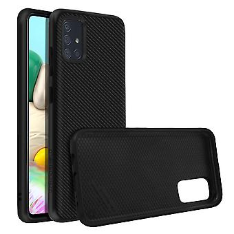 Back Cover For Samsung Galaxy A71 Carbon Honeycomb SolidSuit Rhinoshield black