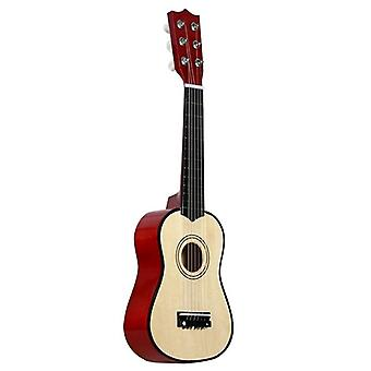 Cuerda pequeña mini guitarra Basswood con Pick Musical Instruments Juguete