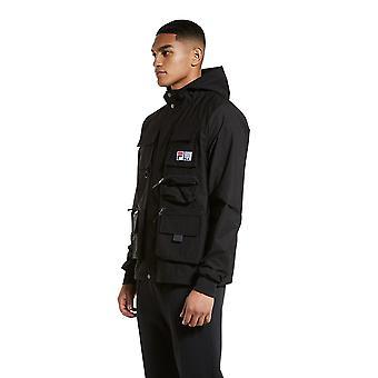 Fila Presanella Cargo Parka Jacket - Black