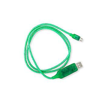 Astrotek 1M πράσινο καλώδιο usb που φορτίζει το καλώδιο στοιχείων
