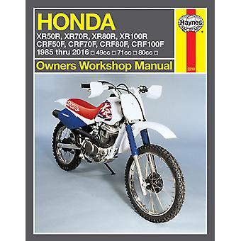 Clymer M2218 Haynes Manual for Honda