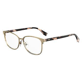 Fendi FF0386 J5G Gold Glasses