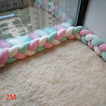 Newborn Baby Pillow Cushion Cot Kids Room Decor Infant Knotted Things Protector