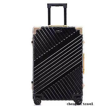 Carrylove Aluminum Frame Suitcase Box Strong Business Trolley Luggage Bag On