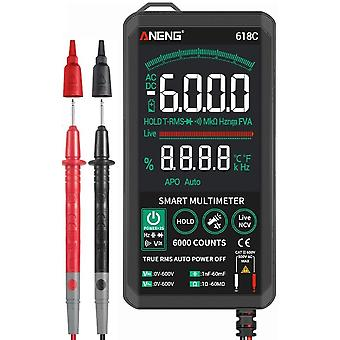 Digitale Multimeter Smart Touch Dc Analoge Bar True Rms Auto Tester Professional