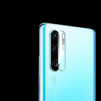 ل Huawei P30 برو 9D شفافة عدسة الكاميرا الخلفية حامي الزجاج خفف الفيلم