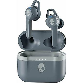Skullcandy Indy EVO True Wireless Earbuds Bluetooth Headphones - Chill Grey