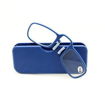 Plus récent Mini Sos Wallet Reading Glasses Nose Clip On Men's Women Frame High