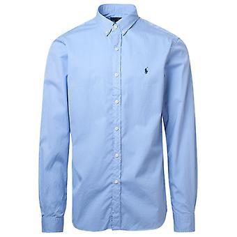 Ralph Lauren 710815557002 Mænd's lyseblå bomuldsskjorte
