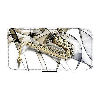 Saxophone iPhone 12 / iPhone 12 Pro Wallet Case