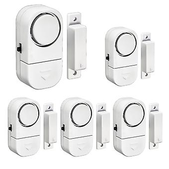 Home Safety Alarm System, Magnetic Sensors, Independent Wireless Door Window