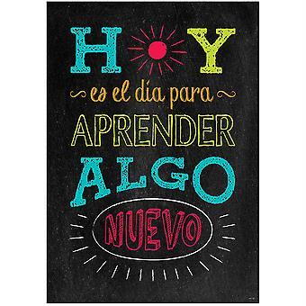 Spanish Inspire U Poster, Hoy Es El Dia...