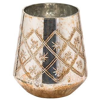 The Noel Collection Glass Burnished Vase