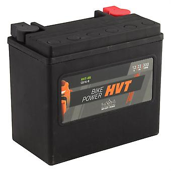 intAct YB16-B / 65991-82B Sealed Activated HVT Bike-Power Battery