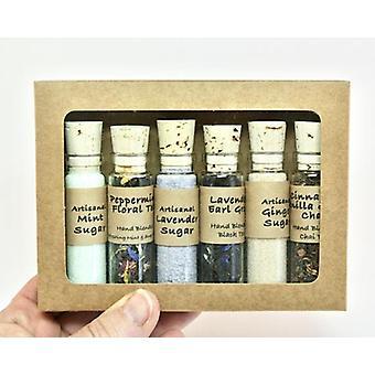 Tea & Sugar Sampler Set Mini Bottles