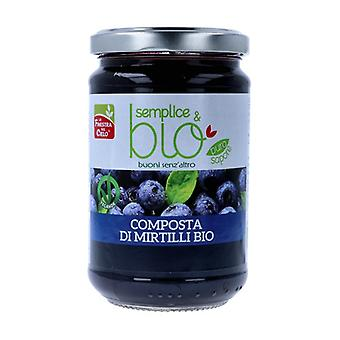 Simple & organic blueberry compote 320 g