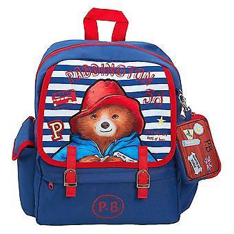 Children's Paddington Bear Satchel Backpack with Detachable Wallet