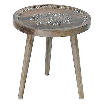 Boční stůl Dřevo Dekodonia Mango Natural (44 x 44 x 48 cm)