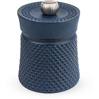 Peugeot Bali Font Cast Iron Pepper Mill - Black - 8cm
