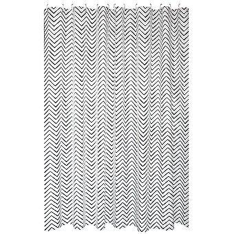 Waterrimbuis douchegordijn 120x200cm