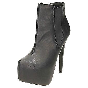 Koi Footwear High Heel Stiletto Platform Ankle Boots Chelsea