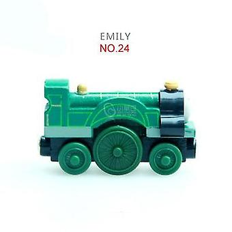 Wood Magnetic Trains Toy, Trackmaster Toy For, Kids Small Car, Xmas