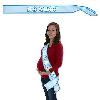 It'S A Boy! Satin Sash (Pack Of 6)