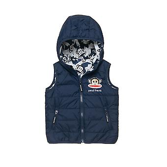 Alouette Boys' Double-Sided Vest-Jacket With Embroidery