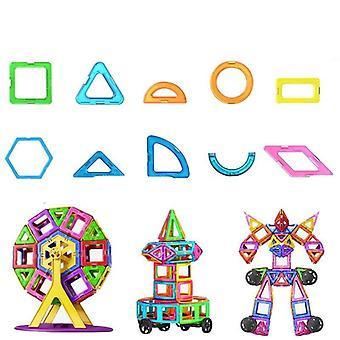 Suurikokoinen magneettinen suunnittelija rakennuspalikat lelu