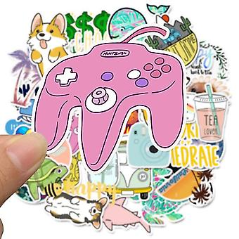 Waterproof Cartoon Cute Diy Stickers