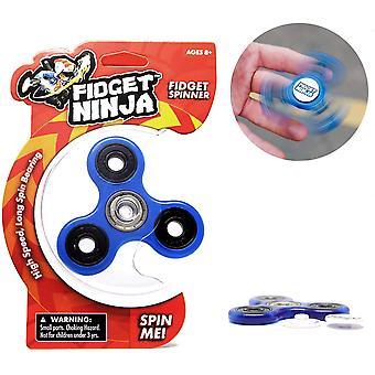 HanFei Fidget Ninja Spinner - BLAU