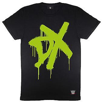 WWE Womens/Ladies DX Spray Logo Boyfriend T-Shirt