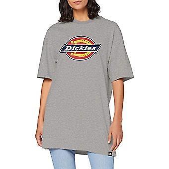 Dickies Varnell camiseta, gimnasio gris, 38 (una talla: X-pequeño) Mujer