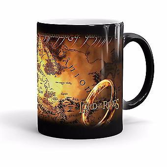Rings Color Mug Animation Around Couple Ceramic Coffee Milk Water Cup