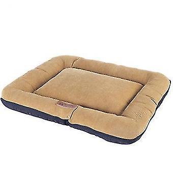 45 * 35 *7cm黄色のペットパッド屋内すべての季節耐水性耐久性のある犬のベッドx4814