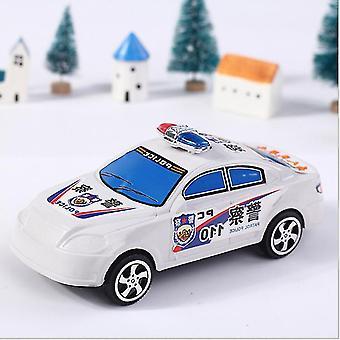 2Pcs الأطفال اللعب التعليمية للأطفال، هدية سحب السيارة، لعبة سيارة الشرطة az9342