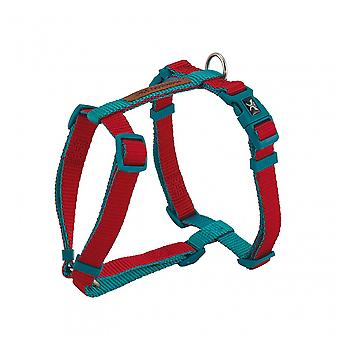 Nayeco X-Trm Double Premium Harness Red-Turquoise