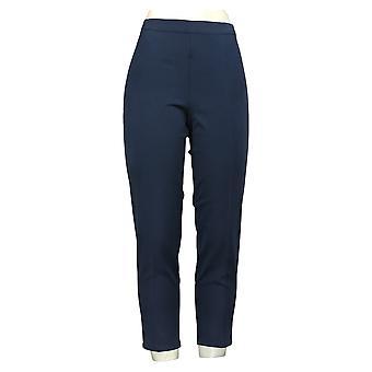 Isaac Mizrahi Live! Pantaloni Petite Donna Petite Stretch Caviglia Blu A266877