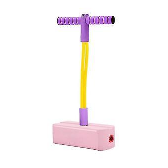 Spielzeug schaum Pogo Pullover für Kinder und Kleinkinder, sicher und lustig Pogo Stick (Pink)