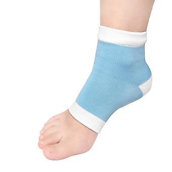 1pair Foot Moisturising Gel Heel Socks Cracked Foot Dry Hard Skin Protector