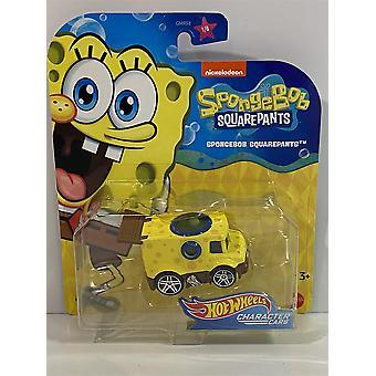 Hot Hjul Karakter Biler SpongeBob SquarePants GMR60